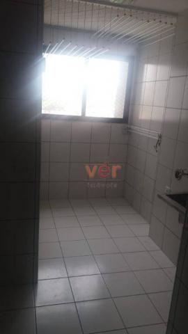 Apartamento com 3 dormitórios para alugar, 112 m² por R$ 1.450/mês - Engenheiro Luciano Ca - Foto 17