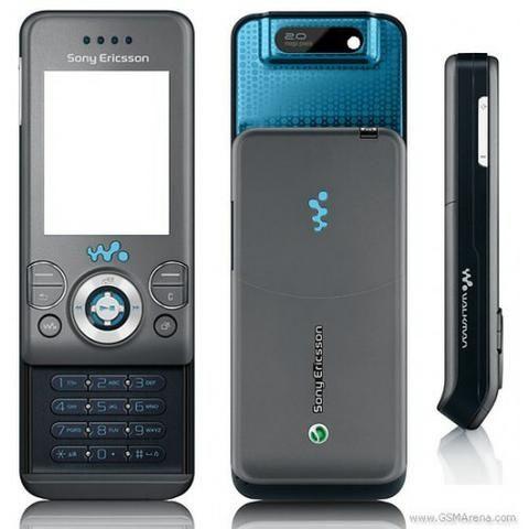 Carcaça Sony Ericsson w580 grafite