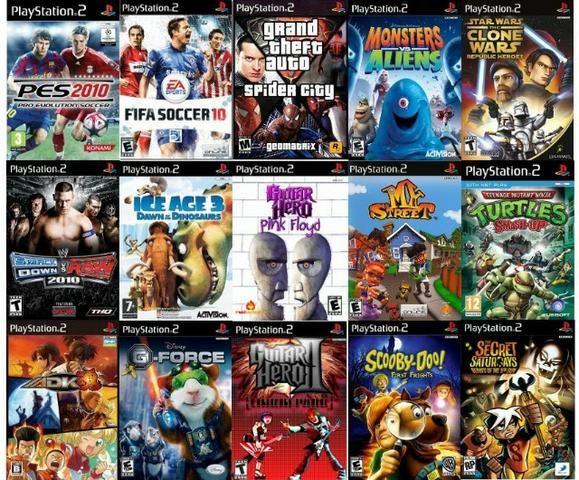 Jogos para Playstation 2 temos uma grande variedade - Foto 5