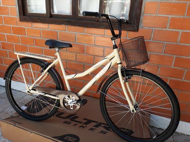 Promoção bicicleta ultra bike aro 26 modelo retrô - Foto 2