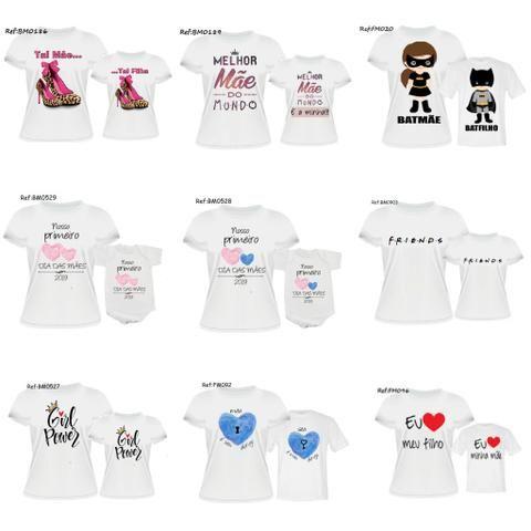 bd104cb34 Camisas Tal mãe, tal filha/ tal.filho - Artigos infantis - São Luís ...