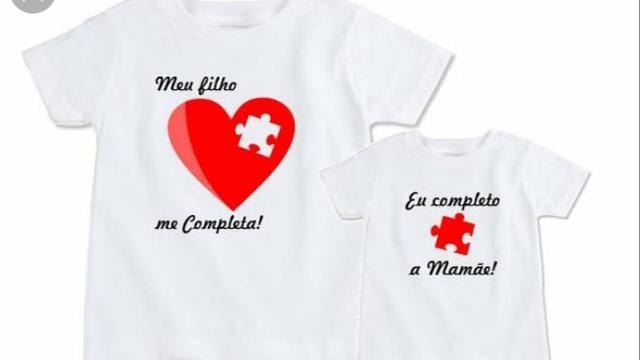 879322a4d9f6 Kit camisas personalizadas mãe e filho(a) dia das mães - Roupas e ...