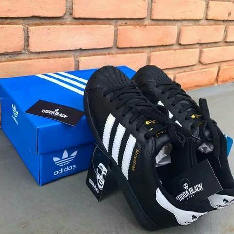 5cb5df75d3a62 Tênis Adidas Superstar TENHO MAIS MODELOS - Roupas e calçados - Vila ...