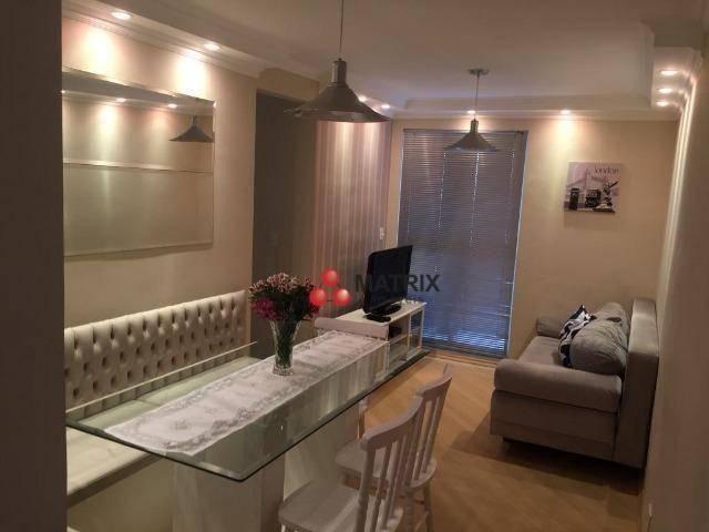 Apartamento com 3 dormitórios à venda, 63 m² por R$ 355.100,00 - Cristo Rei - Curitiba/PR - Foto 7
