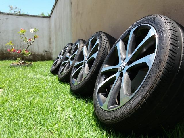 """Vendo rodas e pneus aro 17"""" - Foto 4"""