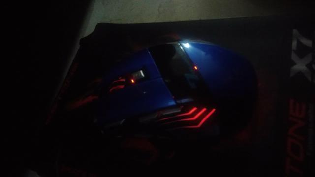 Mouse gamer Estone X7 Gaming novo - Foto 4