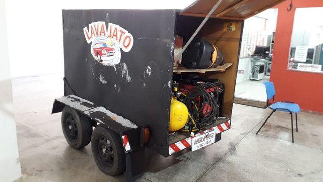 Vendo Lava Jato Movel - aceito troca em moto(cg, biz, pcx) e carro(mais novo) - Foto 5