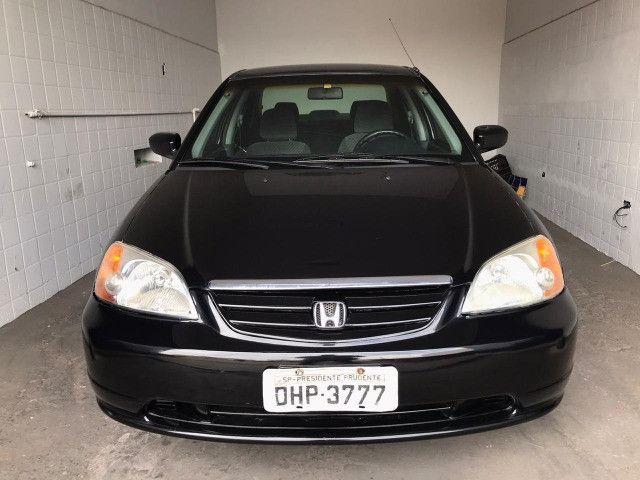 Honda Civic 2002 LX 1.7 - Carro muito novo - Foto 3