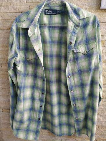 Camisa feminina marca Polo Ralph Lauren - Foto 3