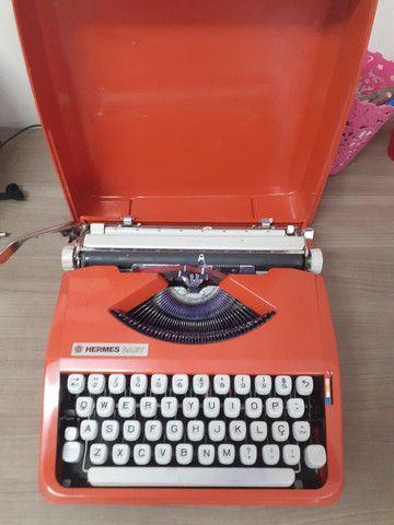 Máquina de escrever Hermes baby - Foto 2