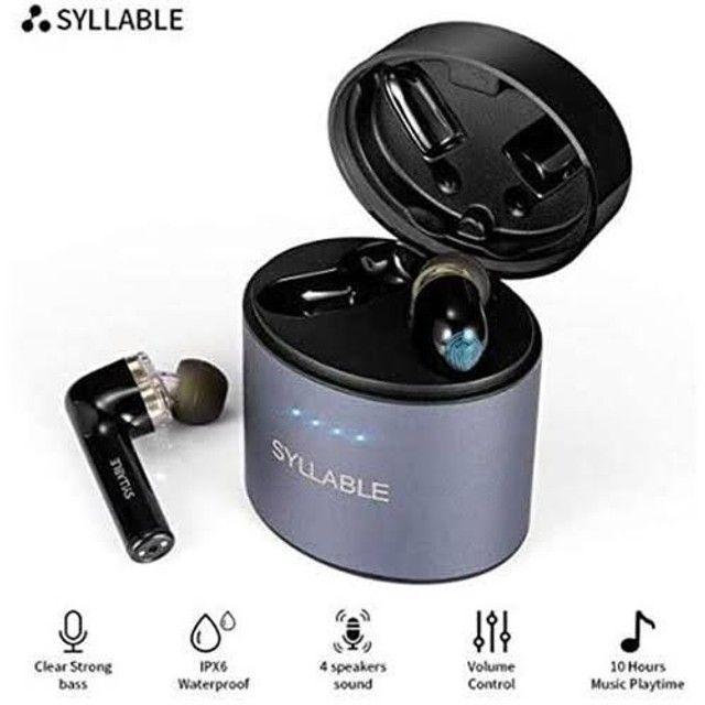 Syllable S101 / S119 - Fones Bluetooth - Entrego e Aceito Cartões - Foto 6