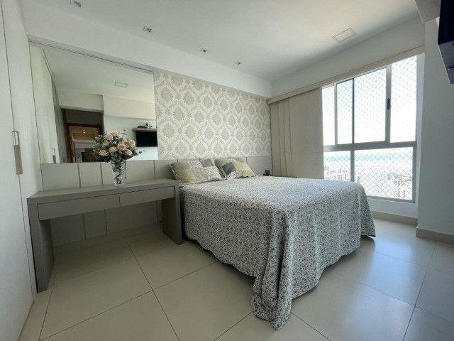 Ótimo apartamento no Residencial Alfredo Volpi, Bessa, 3 suítes + DCE, com linda vista  - Foto 18