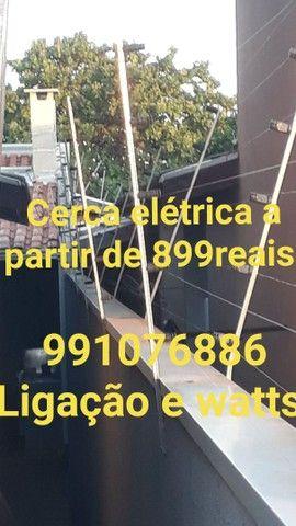 Cerca elétrica a partir de 899reais concertina 13reais o metrô já instalada  - Foto 2