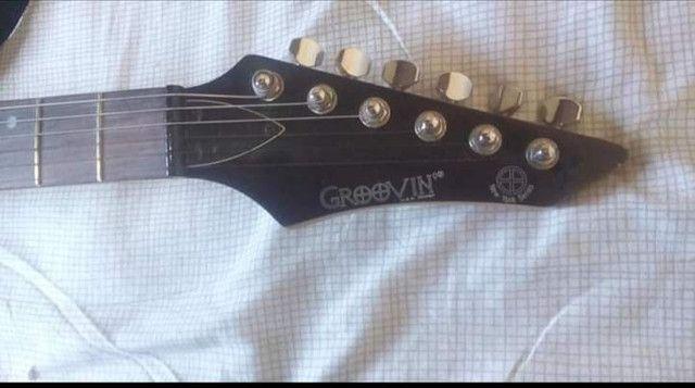 Oportunidade!!! Guitarra Groovin Modelo New - Foto 3
