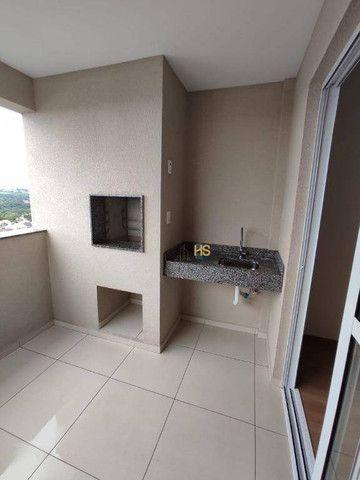 Apartamento com 3 dormitórios para alugar, 104 m² por R$ 2.500,00/mês - Cancelli - Cascave - Foto 9