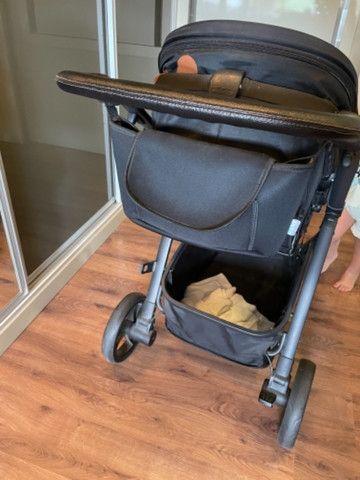 Carrinho 3 EM 1 - Maly Dzieco com bebê conforto e base - Foto 4