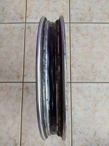 Par de aros Titan 150 freio a disco - Foto 6