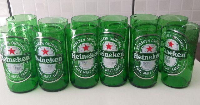 Copo de cerveja Heineken - Foto 4