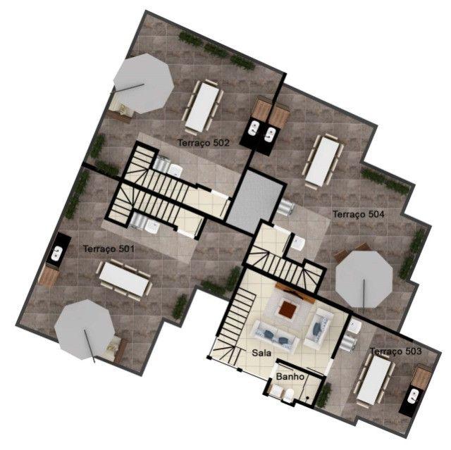Excelente apartamento de 2 e 3 quartos no melhor ponto do Caiçara. - Foto 9