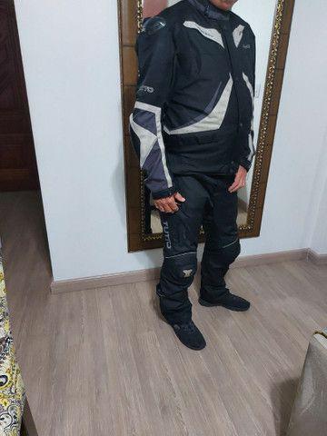 Jaqueta e calça  Motociclista DESCONTO 70 REAIS ATÉ  12 de maio 2021. - Foto 6