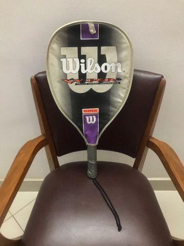 Raquete de tênis Wilson Vicious Wicked Treacherous Vy-Per 3 Oversize.