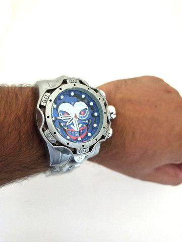 Relógio Masculino Grande Relógio De Pulso Grande Robusto - Foto 4