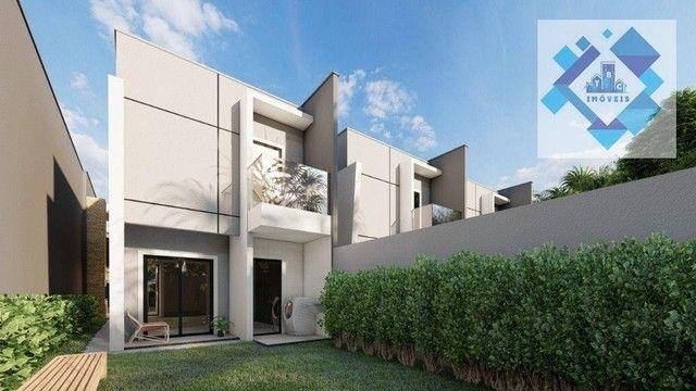 Casa com 4 dormitórios à venda, 137 m² por R$ 440.000,00 - Centro - Eusébio/CE - Foto 4