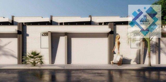 Casa com 4 dormitórios à venda, 137 m² por R$ 440.000,00 - Centro - Eusébio/CE - Foto 7