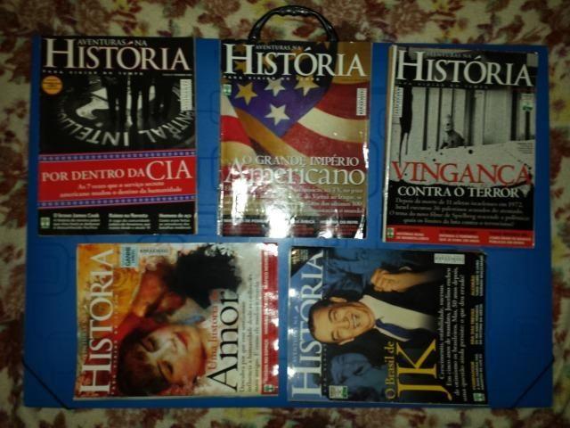 Revista HISTÓRIA. 32 revistas em perfeito estado baratinho mesmo