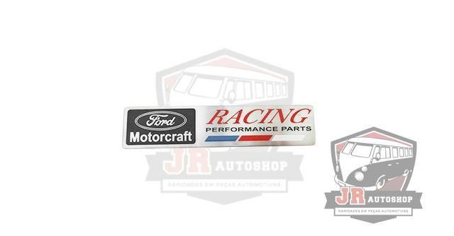 Emblema Ford Motorcraft Racing