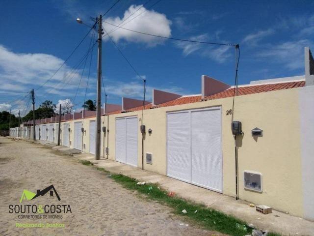 Casa localizada em uma rua privativa, com excelente acabamento e preço baixo!!!