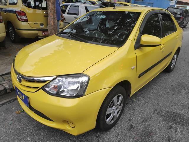 Ex Táxi - Etios Sedan Xs 1.5 2014 Aprovação Imediata - Foto 3