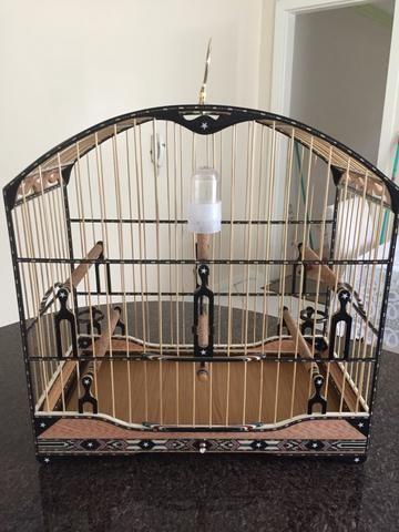 Linda gaiola de roda, para trinca ferro - Foto 2