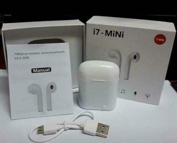 Fone Bluetooth I7 Original s/ fios