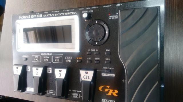 Pedaleira Roland GR-55 + Captador GK3 e cabo midi - * Imperdível - Foto 2