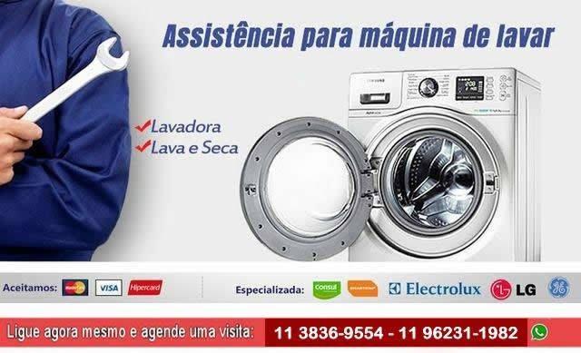 Consertos e reparos em lavadoura de roupas