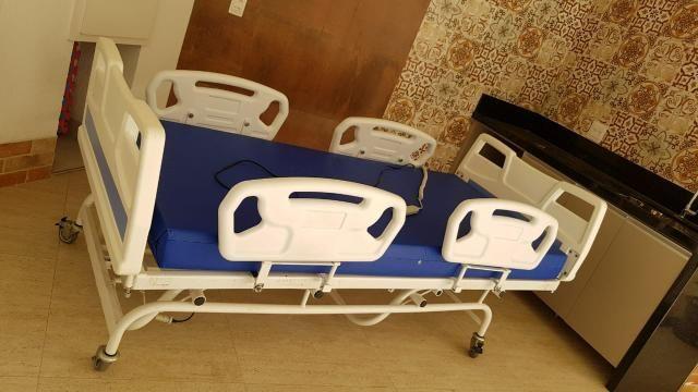 Cama hospitalar elétrica de 3 movimentos - Foto 5