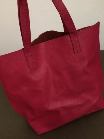Bolsa grande de couro - Foto 4