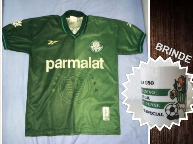 Camisa Palmeiras 1997 Oficial + Brinde