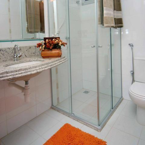 Apartamentoe 3 qtos 1 suite 1 vaga lazer completo, novo aceita financiamento - Foto 9