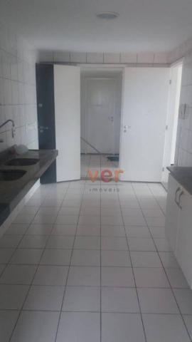 Apartamento com 3 dormitórios para alugar, 112 m² por R$ 1.450/mês - Engenheiro Luciano Ca - Foto 15