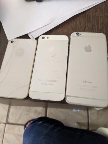 3 iPhones (sucata)