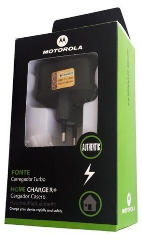 Carregador Motorola Turbo Novo Entrega Grátis Aceito Cartão