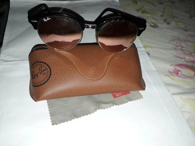 Óculos Original Ray Ban Club Round - Bijouterias, relógios e ... b5d9074168