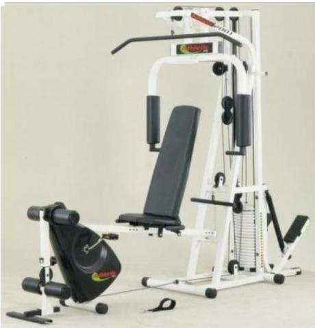 2506651ed Aparelho Estação Academia Musculação Athletic Way 2001 Avant Completa