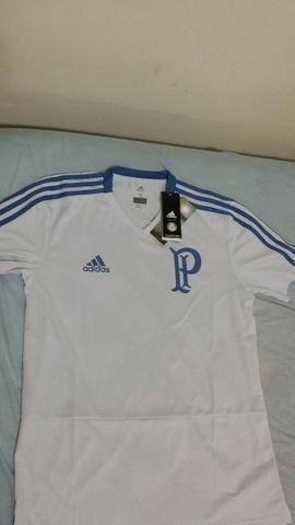 9f01322227316 Camisa de Treino Palmeiras Adidas Masculina - Azul - Roupas e ...