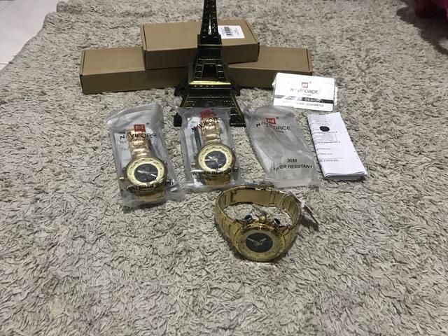 Relógio Naviforce original estilo militar a pronta entrega - Foto 5
