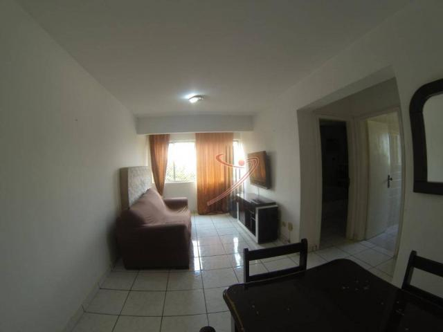 Apartamento com 1 dormitório para alugar, 44 m² por R$ 900,00/mês - Centro - Foz do Iguaçu - Foto 3