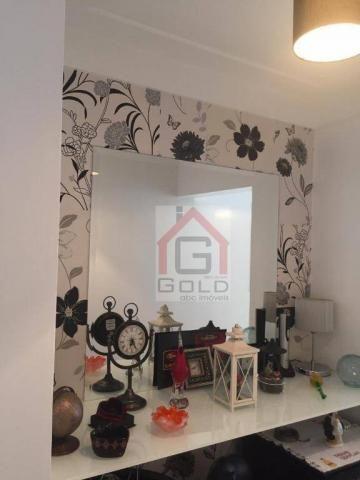 Apartamento com 2 dormitórios à venda, 55 m² por R$ 360.000 - Casa Branca - Santo André/SP - Foto 8