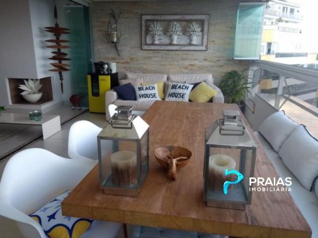 Apartamento à venda com 4 dormitórios em Morro do sorocotuba, Guarujá cod:53883 - Foto 3